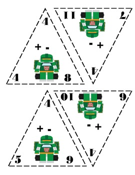 Triangle Fact Cards:  Transformers Edition