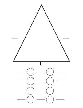 Triangle Fact Family Math