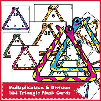 Multiplication and Division Flash Cards