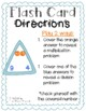 Triangle Flash Cards- Multiplication and Division (3-sided cards)