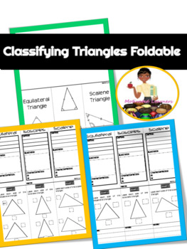 Classifying Triangle Foldable Graphic Organizer