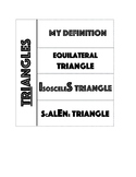 Triangle Foldable for Interactive Notebook
