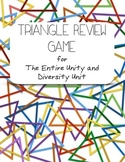 Triangle Game for The Unity and Diversity Unit
