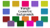 Triangle Geometric Backgrounds
