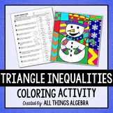Triangle Inequalities Coloring Activity