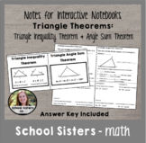 Triangle Inequality & Angle Sum Theorem Notes for Interact