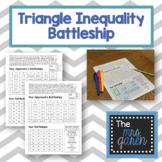 Triangle Inequality Battleship Game