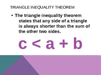 Triangle Inequality Investigation