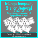 Triangle Inequality Station Activity!