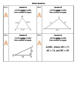 Triangle Inequality Stations