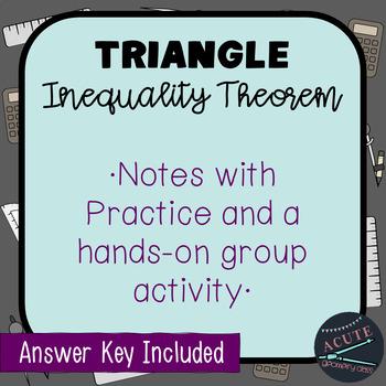 Triangle Inequality Theorem