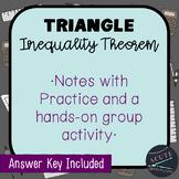 Triangle Inequality Theorem Activity