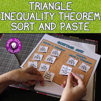 Triangle Inequality Theorem Activity 7.G.A.2