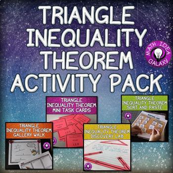 Triangle Inequality Theorem Activity Bundle 7.G.A.2
