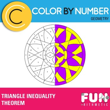 Triangle Inequality Theorem Color by Number