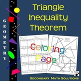 Triangle Inequality Theorem Coloring Activity