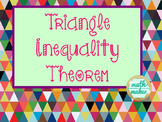 Triangle Inequality Theorem ~ Discovery Activity and Practice