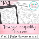 Triangle Inequality Theorem Maze
