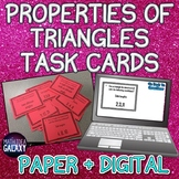 Triangle Inequality Theorem Mini Task Cards 7.G.A.2