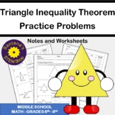 Triangle Inequality Theorem: Notes and Worksheets
