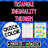 Triangle Inequality Theorem Quick Color