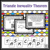 Triangle Inequality Theorem Task Cards