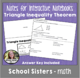 Triangle Inequality Theorem for Interactive Notebooks