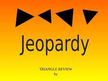 Triangle Jeopardy