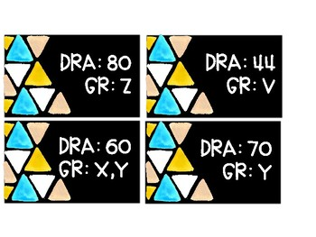 Triangle Library Labels