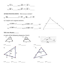 Triangle Midsegment Discovery Activity