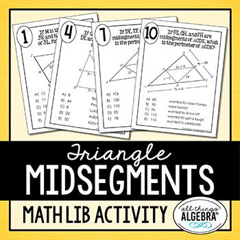 Triangle Midsegments Math Lib