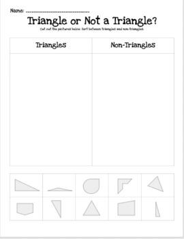 Triangle/Non-Triangle Sort