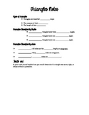 Triangle Notes handout: Room 709