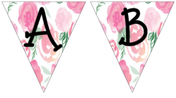 Triangle Pennant Banners- 5 Background Options