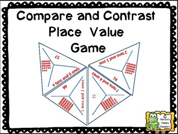 Triangle Place Value Game Tens and Ones