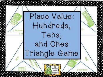 Triangle Place Value Game with Hundreds