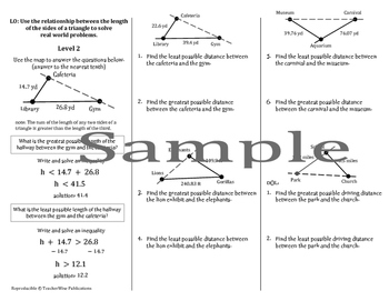Triangle Problem Solving Mini Lessons & Homework: Types, Sides, Angles