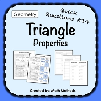Triangle Properties: Fix Common Mistakes!