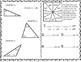 Triangle Properties Math Notebook-Triangle Angle Sum-Triangle Inequality Theorem