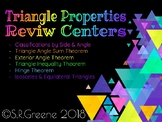 Triangle Properties Review Centers