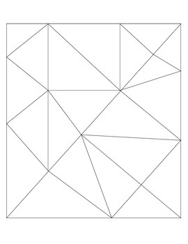 Triangle Puzzle Sheet
