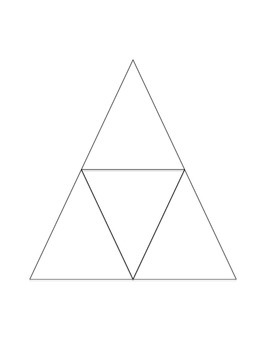 Triangle Puzzle Template