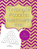 Triangle Puzzle - Vandertramp Verbs - French Passé Composé