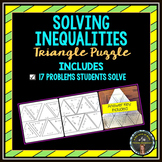 Triangle Puzzle on Solving Inequalities