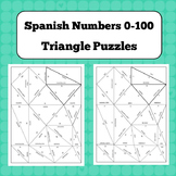 Triangle Puzzles - Spanish Numbers 0-100