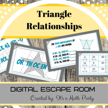Triangle Relationships - DIGITAL ESCAPE ROOM