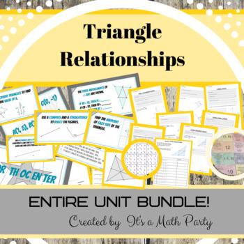 Triangle Relationships - ENTIRE UNIT BUNDLE