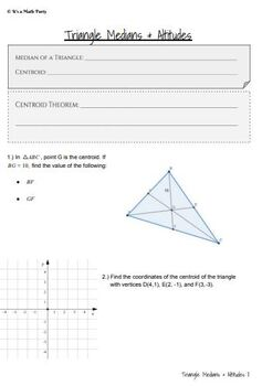 Triangle Relationships - GUIDED NOTES