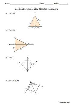Triangle Relationships - HOMEWORK