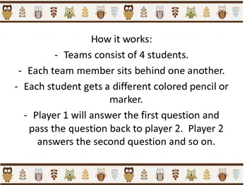 Triangle Relay Puzzle